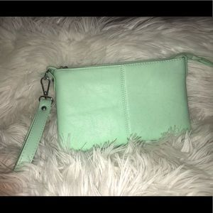 Mint Green Clutch Purse-Charming Charlie!